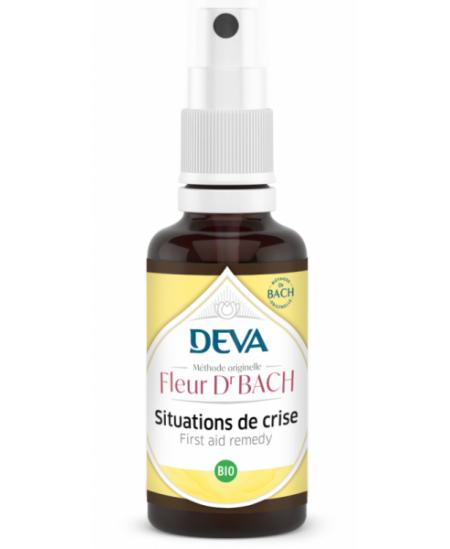 Deva - Elixir Floral Bach - Situation de Crise - Spray 10 Ml