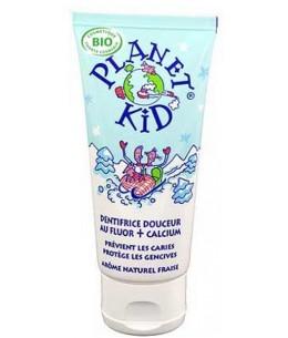 Planet Kid Dentifrice Douceur Fluor et Calcium 50ml