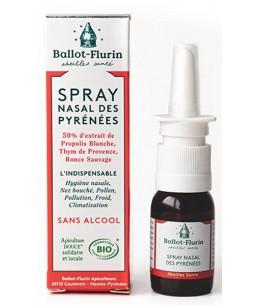 Spray nasal des Pyrénées sans alcool - 15 ml - Ballot Flurin antiseptique défenses Espritphyto