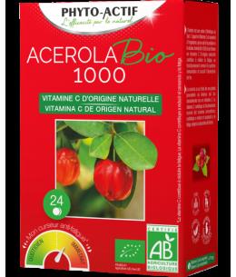 Phyto-Actif - Acérola Bio 1000 AB 24 comprimés