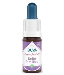 Deva - Composé Floral Bio - Unité Familiale N° 9 - 10 Ml