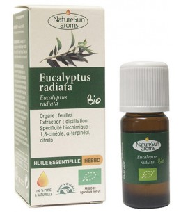 Naturesun' Aroms Huile essentielle Eucalytus radiata bio 10ml