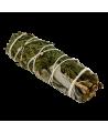 Sauge Blanche & Eucalyptus Smudge 12cm, 25 à 30 grs