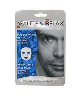 BEAUTE & RELAX - Masque Visage Revitalisant (Pour Homme)