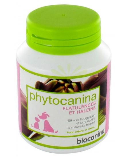 Biocanina - Phytocanina - Flatulence et haleine - Pour chiens et chats - 40 comprimés