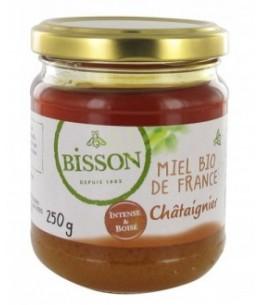 Bisson - Miel bio de France - Châtaignier - 250g