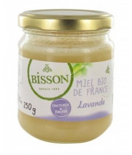 Bisson - Miel Bio De France - Lavande - 250g
