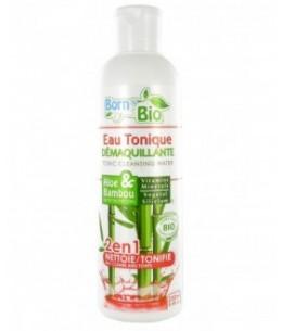 Born To Bio - Eau Tonique Démaquillante Bio - Aloe & Bambou