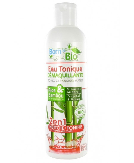 Born To Bio - Eau Tonique Démaquillante Bio - Aloe & Bambou
