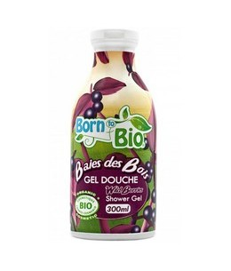 Born To Bio - Gel Douche Bio - Baies des Bois