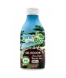 Born To Bio - Gel Douche Bio - Beurre de Karité