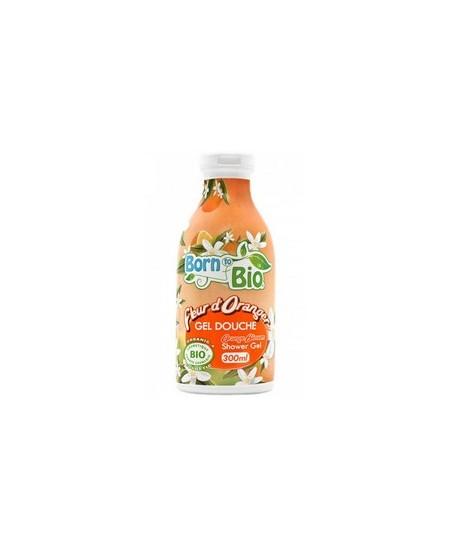Born To Bio - Gel Douche Bio - Fleur d'Oranger