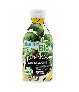 Born To Bio - Gel Douche Bio - Monoi & Noix de Coco      Catalogue Produits
