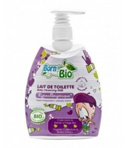 Born To Bio - Lait De Toilette Bio Bébé - 475 Ml