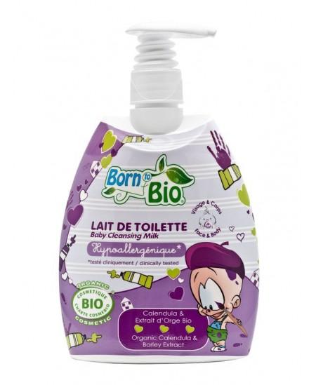 Born To Bio - Lait De Toilette Bio Bébé - 475 Ml