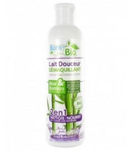 Born To Bio - Lait Douceur Démaquillant Bio - Aloe & Bambou