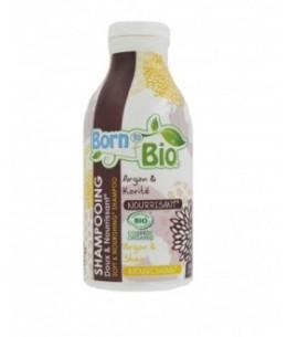 Born To Bio - Shampooing Bio Doux - Nourrisant Argan & Karité - 300 Ml