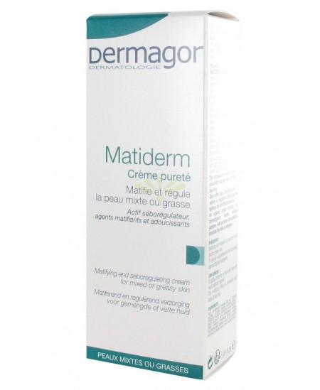 Dermagor - Matiderm Crème Pureté - 40 Ml