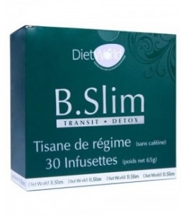 Diet World - B.Slim Transit - Tisane Minceur - 30 Infusettes