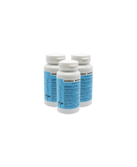 EspritPhyto - Bambou - Cure de 3 mois (3 boîtes de 90 gélules)