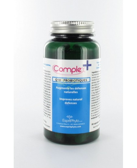 EspritPhyto - ComplexPlus, Q10 Probiotiques