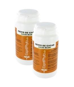 EspritPhyto - Fèves de Cacao - Cure de 1 Mois (2 Boîtes de 90 Gélules)