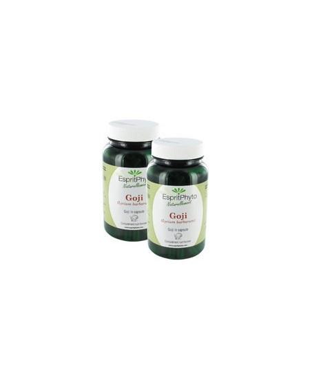 EspritPhyto - Goji - Cure de 4 mois (2 Boîtes de 120 Gélules)