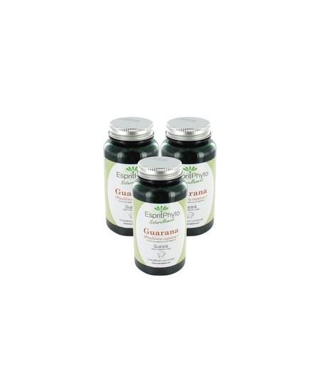 EspritPhyto - Guarana - Cure de 2 mois (3 boîtes de 90 gélules)