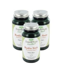 EspritPhyto - Radis Noir - Cure de 3 mois (3 boîtes de 90 gélules)