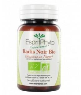 EspritPhyto - Radis Noir Bio - 60 Gélules