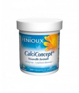 Fenioux - CalciConcept Nouvelle Formule - 200 Gélules