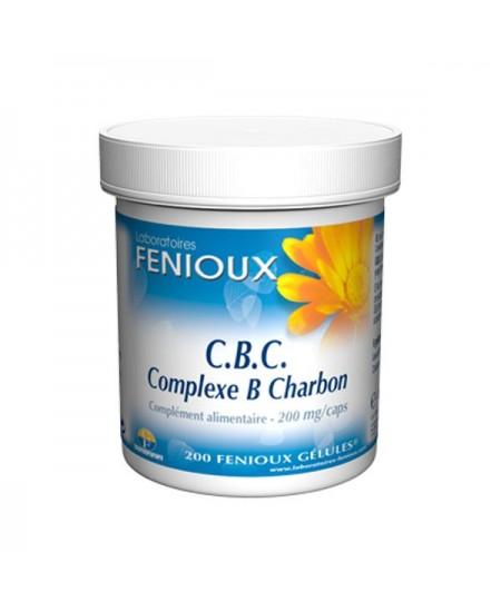 Fenioux - CBC Complexe B Charbon - 200 Gélules
