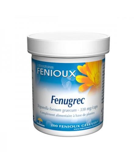 Fenioux - Fenugrec - 200 Gélules