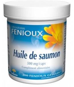 Fenioux - Huile de Saumon (Oméga 3) - 200 Gélules
