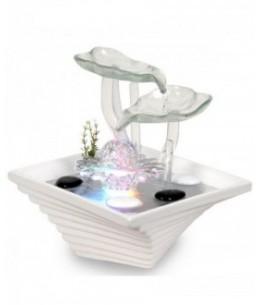 Zen'Arôme - Fontaine d'intérieur Cristal Line FLOWER