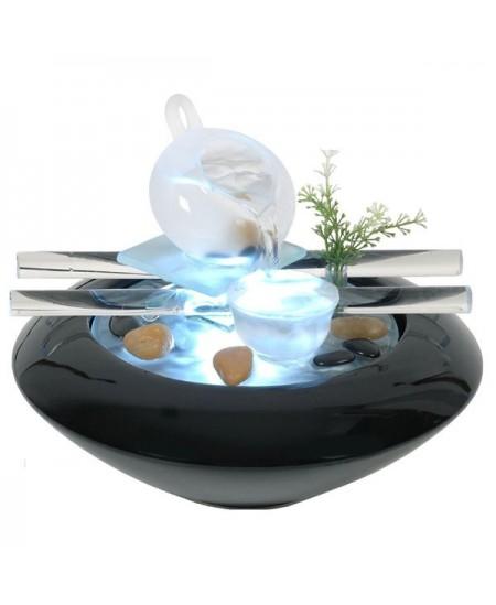 Zen'Arôme - Fontaine d'Intérieur Cristal Line Tea Time