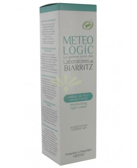 Laboratoires De Biarritz - MeteoLogic - Crème De Nuit Hydratante - 50 Ml