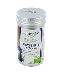 Ladrôme - Huile Essentielle Bio - Citronnelle - 10 Ml