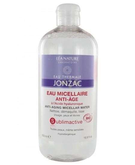 Léa Nature - Eau Thermale Jonzac - Eau Micellaire Anti-Âge Bio - 500 Ml