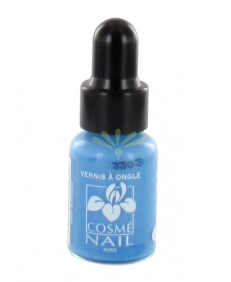 Lisandra Paris - Cosmé Nail - Mini Vernis à Ongles - Bleu Ciel - 5 ml