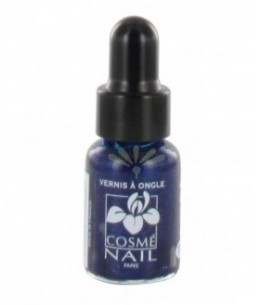 Lisandra Paris - Cosmé Nail - Mini Vernis à Ongles - Bleu Outre Mer Nacré - 5 Ml