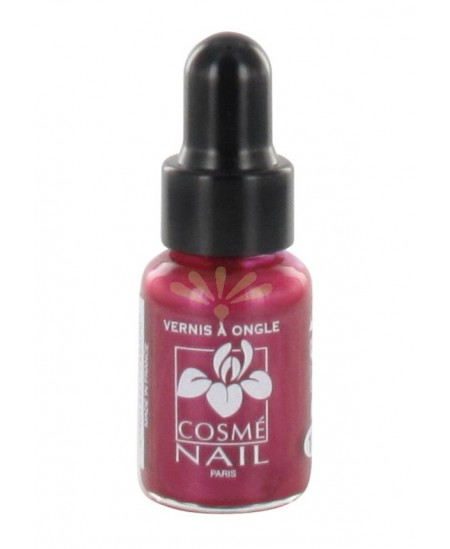 Lisandra Paris - Cosmé Nail - Mini Vernis à Ongles - Bordeaux Nacré - 5 ml