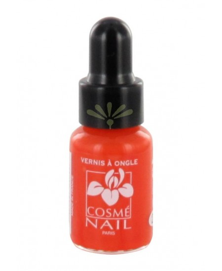 Lisandra Paris - Cosmé Nail - Mini Vernis à Ongles - Orange - 5 ml
