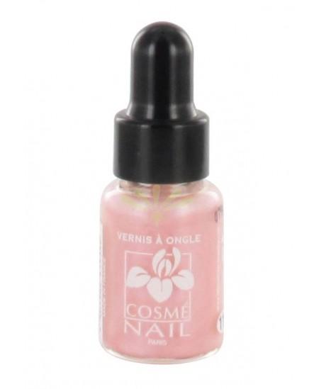 Lisandra Paris - Cosmé Nail - Mini Vernis à Ongles - Rose Dragée Nacré - 5 Ml