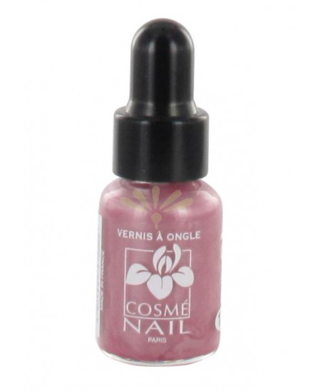 Lisandra Paris - Cosmé Nail - Mini Vernis à Ongles - Rose Métal - 5 Ml