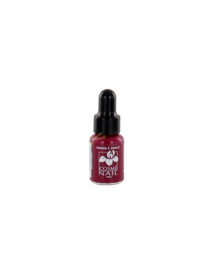 Lisandra Paris - Cosmé Nail - Mini Vernis à Ongles - Rouge Groseille - 5 Ml