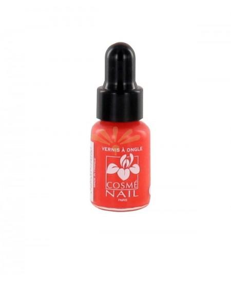 Lisandra Paris - Cosmé Nail - Mini Vernis à Ongles - Rouge Orange - 5 Ml