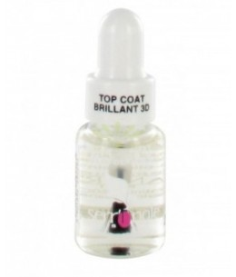 Lisandra Paris - Serr'Ongle - Top Coat Brillant 3D - 5 Ml