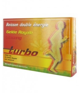 Moulin De L'Aunay - Turbo - Boisson Double Energie