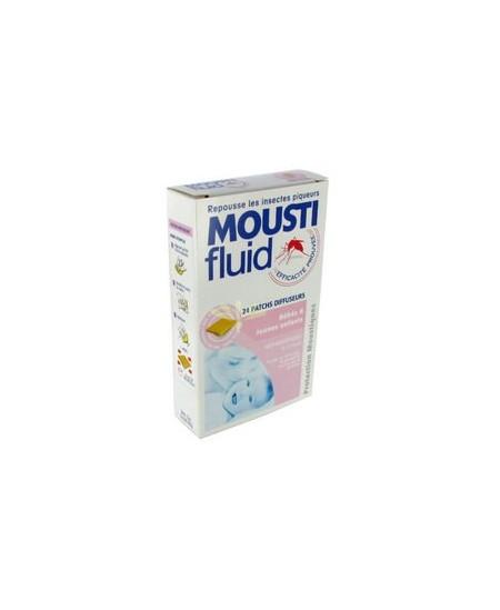 Moustifluid - Patchs Diffuseurs - Bébés & Jeunes enfants